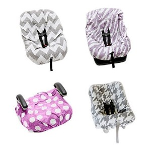 Save Your Seat Disposable Car Seat & Strap Covers for Car Seats, Booster Seats, High Chairs,...