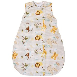 Baby Sleeping Bag Safari, 1 TOG Summer Model (Medium (10 - 24 mos)) by BabyinaBag