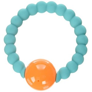Chewbeads Mercer Rattle - Turquoise by Chewbeads [並行輸入品]