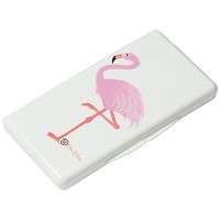 Uber Mom Flamingo Wipe Box, White by Uber Mom