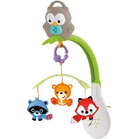 Fisher-Price Woodland Friends 3-in-1 Musical Mobile by Fisher-Price