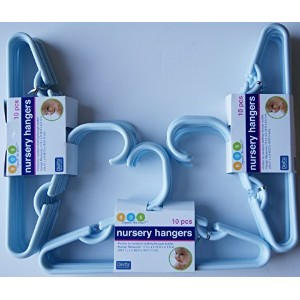 Delta Blue Nursery Hangers 10 Pack - For Baby, Toddler, Kids, Children (Pack of 3) by Delta [並行輸入品]