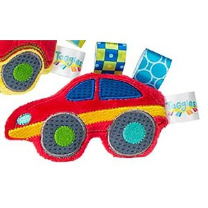 TaggiesTM Wheelies Sports Car Rattle 5 by Mary Meyer by Mary Meyer