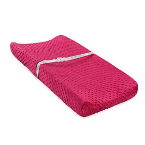 Carter's Popcorn Valboa Changing Pad Cover, Siren Pink by Carter's
