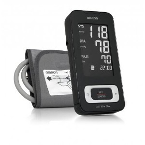 Omron MIT Elite Plus Upper Arm Blood Pressure Monitor with Download Facility
