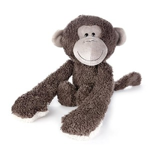 DEMDACO Plush Toy, Hugzies Monkey by Demdaco