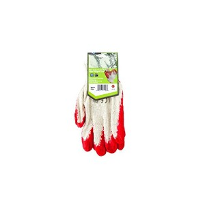 Koleimports Large Red Latex Palm Coated Lightweight Liner Gloves by bulk buys