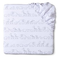 Circo? Two By Two Woven Fitted Crib Sheet by Circo