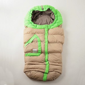 7AM Enfant   【B212E 】 Blanket 215 Evolution 【color:Beige/Neon Green】