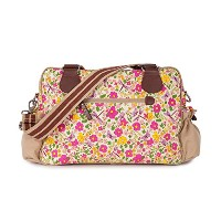 Pink Lining Not So Plain Jane Napy Bag, Cottage Garden by Pink Lining