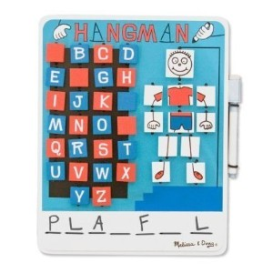 Flip to Win Wooden Travel Game Hangman by Melissa & Doug [並行輸入品]
