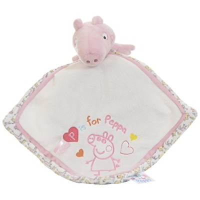 Peppa Pig Comfort Blanket For Baby, By Rainbow Designs