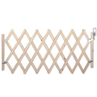 Withjenny Easy Swing and Lock Wood Gate (Small) by Withjenny