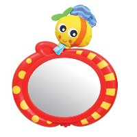 Playgro Travel Bee Car Safety Mirror for Baby by Playgro