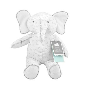 Just Born Soft Plush Toy, Animal Kingdom Collection Ellie The Elephant, Grey by Just Born
