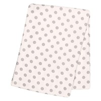 Trend Lab Gray Dot Deluxe Flannel Swaddle Blanket by Trend Lab