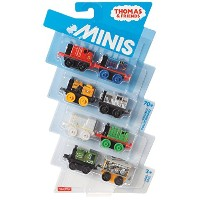 """Thomas & Friends 1"""" Minis 8-Pack - James, Edward, Stephen, Salty, Paxton, Henry, Luke and Toby by..."""