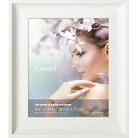 Fotove 8x10 Elegance Picture Photo Frame - White by FOTOVE