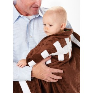 Mud Pie Football Blanket for Baby and Toddler by Mud Pie [並行輸入品]