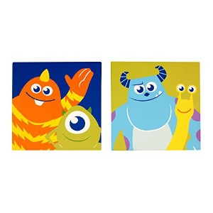 Disney Monsters at Play Canvas Art, Multi-Colored by Disney