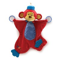Color Fun Circus Monkers Activity Blanket 16' by Gund [並行輸入品]