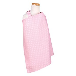 Trend Lab Sky Dot Nursing Cover, Pink by Trend Lab