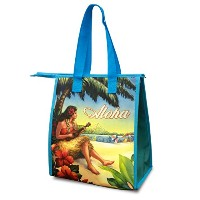 Small Non-Woven Lunch Bags Vintage Hawaii by Welcome to the Islands