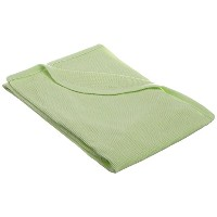 TL Care 100% Cotton Swaddle/Thermal Blanket, Celery by TL Care