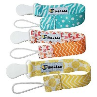 Pacifier Clips That Never Fail, Super Cute Holder Designed for Girls Best for Soothie Pacifiers,...