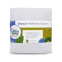 Lullaby Earth Breeze Cover - White by Naturepedic [並行輸入品]