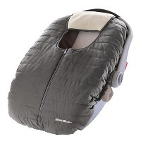 Warm & Cozy Eddie Bauer Weather resistant Reversible Carrier Car Seat Cover Gray by Eddie Bauer ...