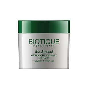 Biotique Overnight Therapy Lip Balm - Almond 12g by Biotique