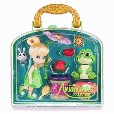 Disney(ディズニー) Disney Animators' Collection Tinker Bell Mini Doll Play Set - 5'' ティンカーベル ミニドールセット ...