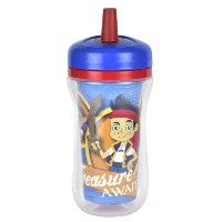 The First Years Insulated Straw Cup - Jake and the NeverLand Pirates - 9 oz by The First Years ...
