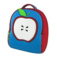 Dabbawalla Bags Apple Of My Eye Kid's Toddler Preschool and Daycare Backpack, Red/blue by Dabbawalla...