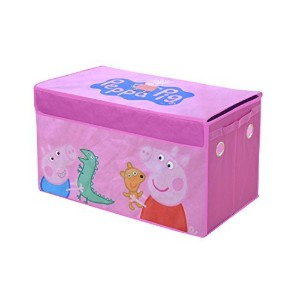 "Peppa Pig Collapsible Storage Trunk, 16 x 14 x 30"" [並行輸入品]"