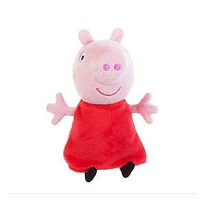Peppa Pig Small 7 inch Plush - Peppa with Sound by Jazwares [並行輸入品]