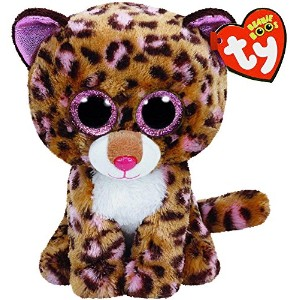 New TY Beanie Boos Cute Patches the Leopard Plush Toys 6'' 15cm Ty Plush Animals Big Eyes Eyed...