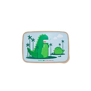 Beatrix New York Rice Fiber Bento Box: Percival and Alister (Dinos), Green, One Size by Beatrix New...