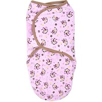Summer Infant スワドルミー SWADDLEME ORIGINAL SWADDLE Jungle.Hunnies Small [並行輸入品]