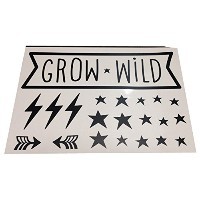 A little Lovely Company Wall stickers: Grow wild ウォールステッカー(Grow Wild)