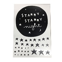 A little Lovely Company Wall stickers: Starry night ウォールステッカー(Starry Night)