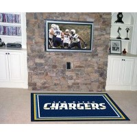 Fanmats San Diego Chargers 4x 6ラグ