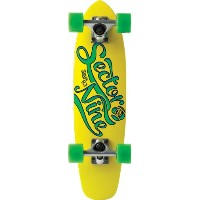 Sector 9 The Steady Complete Skateboard, Yellow, 6.75-Inch x 25.0-Inch by Sector 9