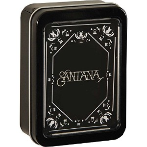 SantanaロゴPlaying Cards in official collector 's Tin