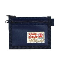 Rough Enough クレジット カード 小銭入れ:あり ケース Credit Card Coin Case (Blue)