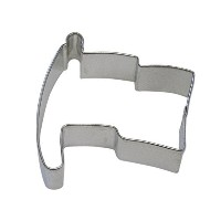 CybrTrayd R&M Flag Tinplated Steel Cookie Cutter and Cookie Recipe, 3.25-Inch, Silver, Lot of 12 ...