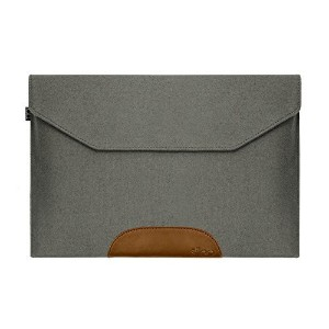 SILEO ®プレミアムLaptop Sleeve THEO for Macbook Pro Air Dell XPSなど。–純正ウールフェルトwith Lifetime保証–...