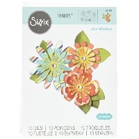Ellison Sizzix Mix & Match Flowers Thinlits Die Set by Lori Whitlock by Sizzix