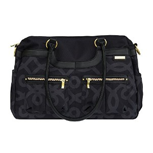 JJ Cole Satchel, Black and Gold by JJ Cole